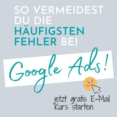 Google Ads Fehler vermeiden