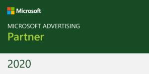 Partner Badge Microsoft Advertising 2020